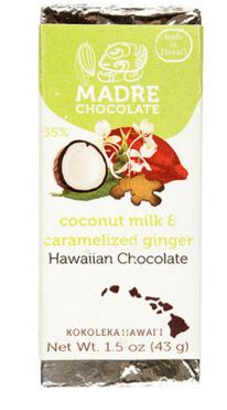 Hawaiian chocolate bar