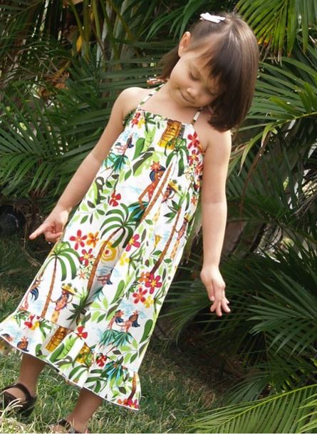 hula girl dress