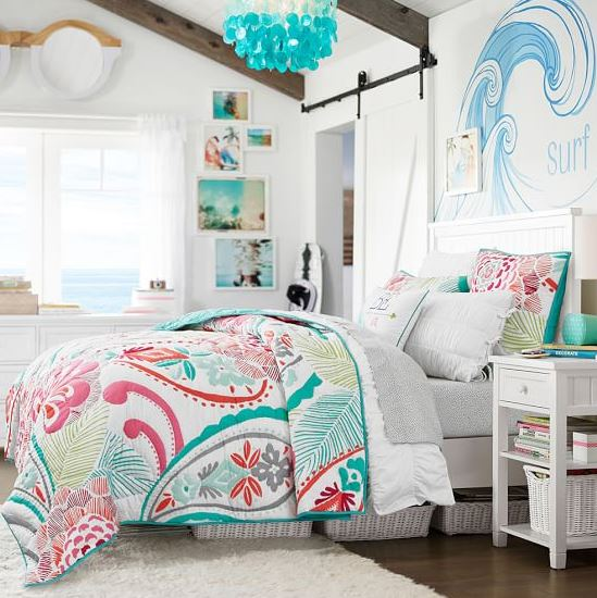 Pottery Barn Teen Bedding Sale The Hawaiian Home - Pottery barn teenagers