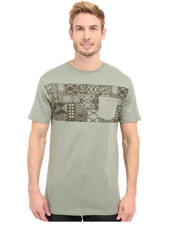 men's hawaiian print t-shirt
