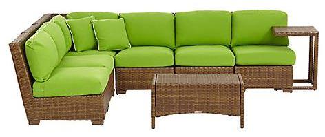 tropical outdoor sofa