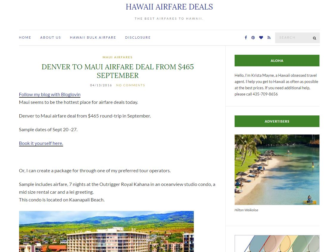 save on flights to hawaii