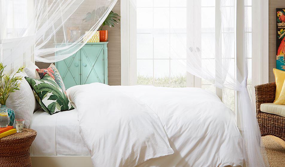 romantic tropical bedroom inspiration
