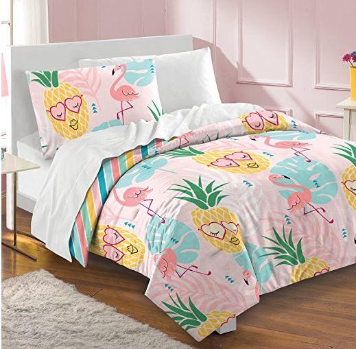pink pineapple comforter