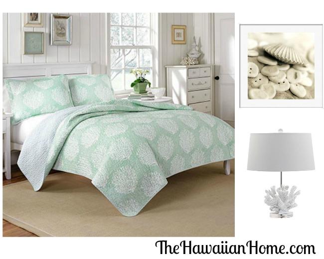 soft coral bedroom design