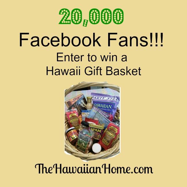 win a hawaii gift basket