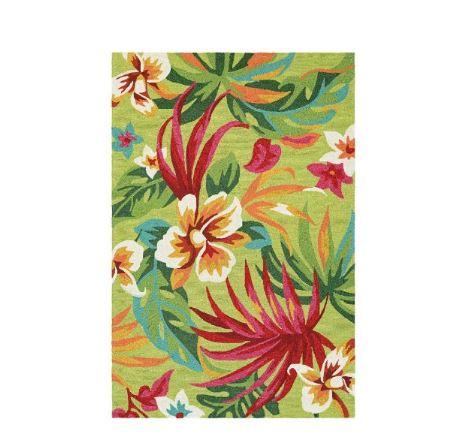 beuatiful Hawaiian style rug