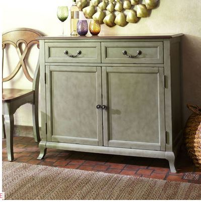 sage green buffet on sale