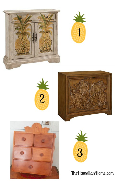 pineapple cabinets