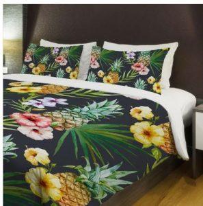 hawaiian pineapples bedding
