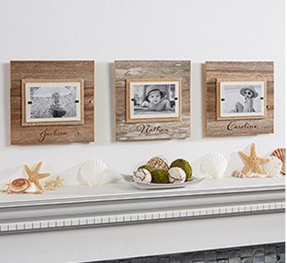 personalized beachwood frames
