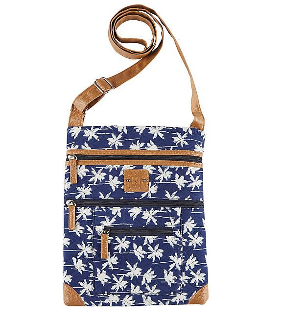 palm tree crossbody bag