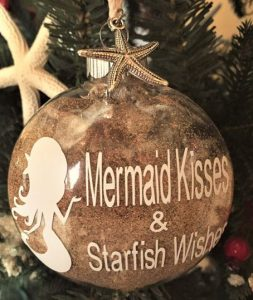 mermaid kisses ornaments