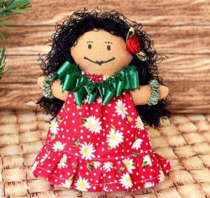 hawaiian doll ornament