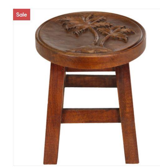 palm tree stool