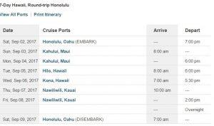 black friday hawaii cruise sale