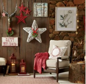 driftwood star christmas decoration
