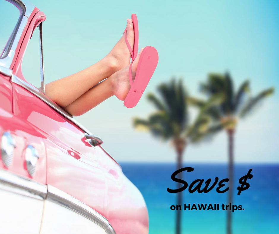 save money on hawaii travel