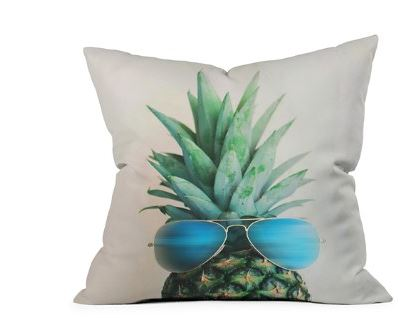 funny pineapple pillow