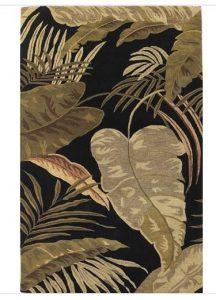 tropical rainforest rug