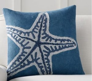 starfish pillow on sale