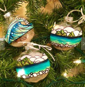 made in hawaii ornaments