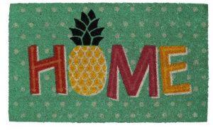 aloha rug, pineapple door mat, aloha doormat,