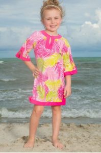kids tropical dress
