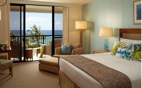 turtle bay resort room