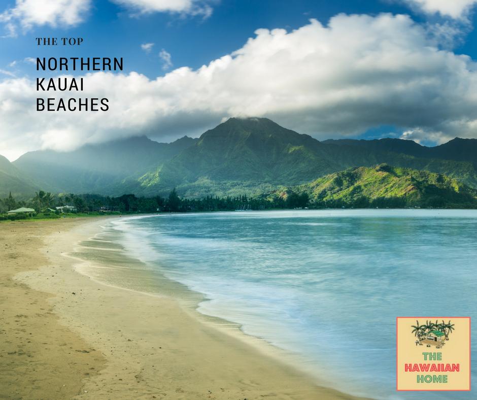 the top beaches of northern kauai