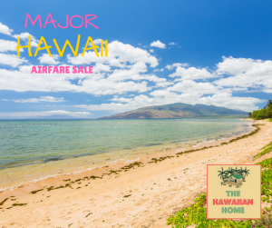 major hawaii airfare sale