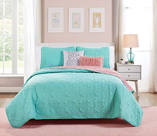 embossed pineapple bedding