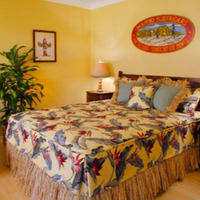 hawaiian bedroom