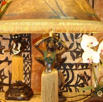 dancing hula girl lamps
