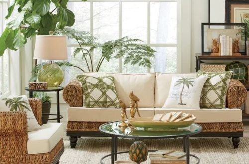 tropical living room inspiration
