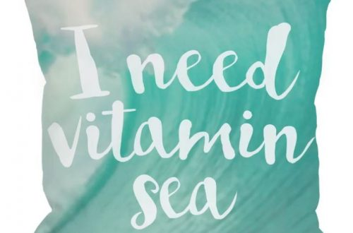 vitamin sea pillow