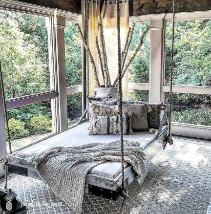 hawaiian style hanging bed