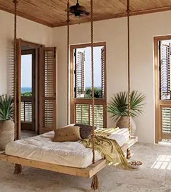 Hawaiian Style Swinging Beds - The Hawaiian Home