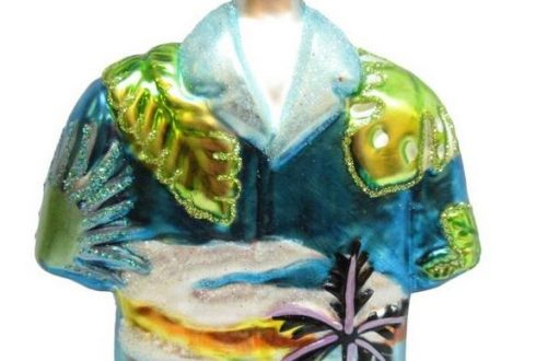 hawaiian shirt ornament